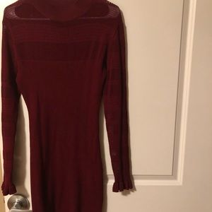 Almost famous dress /Burgundy